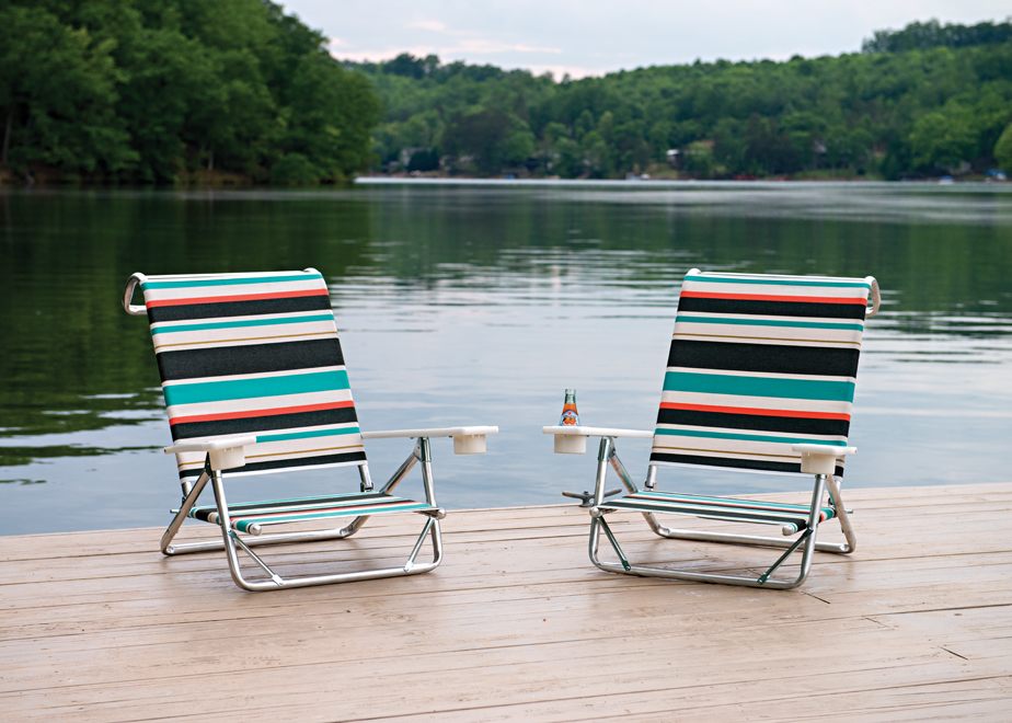 Mini-Sun Chaise with MGP Arms and Cupholders by Telescope - Set of 2