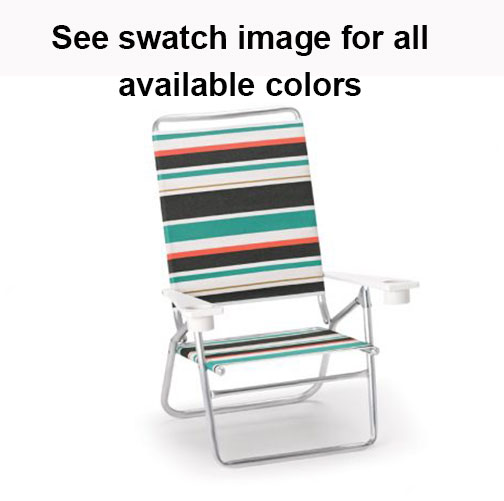 High Boy Beach Chair with MGP Arms and Cupholders by Telescope