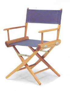Telescope World Famous CANVAS Table Height Directors Chair