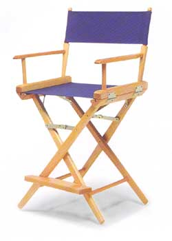 Telescope World Famous Counter Height MESH Directors Chair