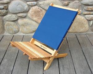 Two Piece Portable Caravan Chair by Blue Ridge Chair