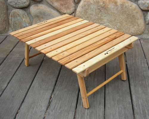 The Carolina Snack Table by Blue Ridge Chair