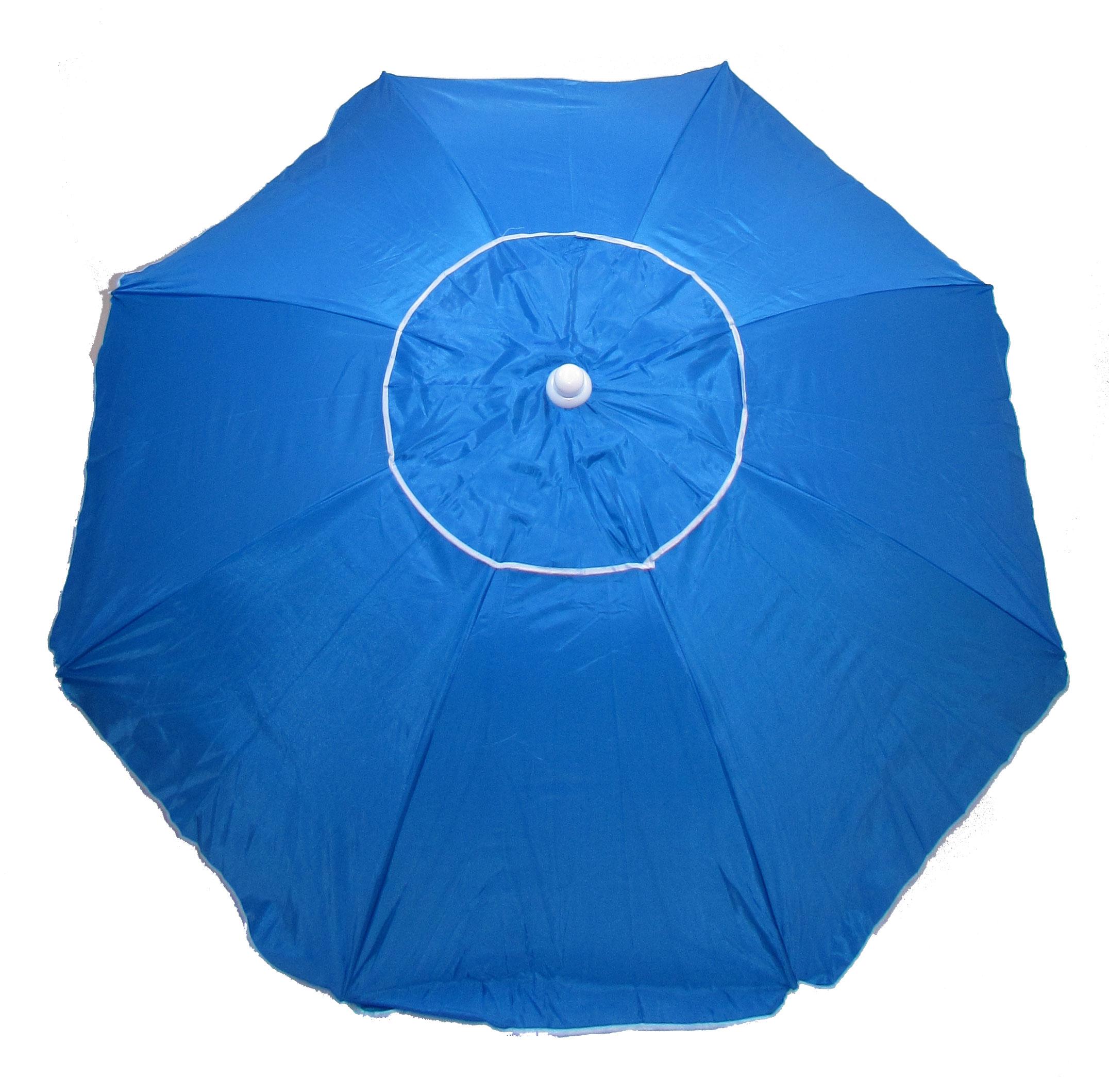 Oxford 6 ft. UV Coated Beach Tilt Umbrella with Vent