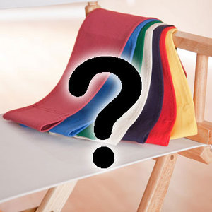 CUSTOM SIZE Canvas Directors Chair Replacement Cover Set