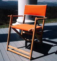 Oak Folding Deck Chair
