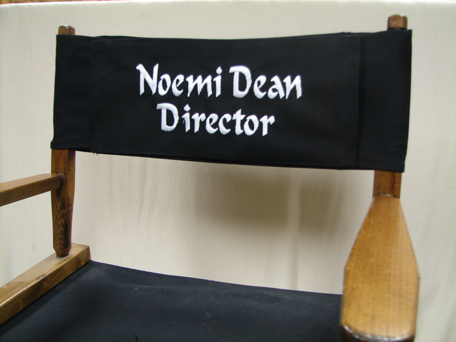 EMBROIDERED Personalized Replacement Canvas For Directors Chair