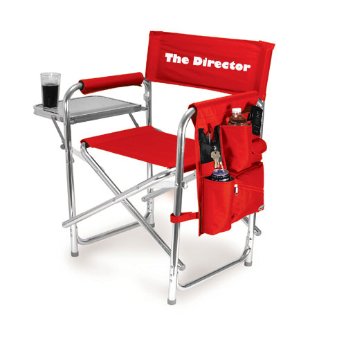 custom embroidered directors chair 1