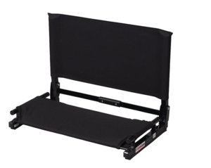 The NEW Deluxe Wide Stadium Chair Gamechanger Bleacher Seat with Optional Arms