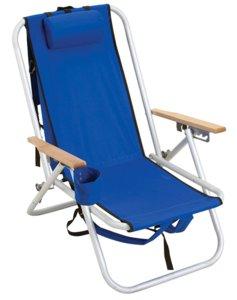 Aluminum Backpack Chair by Rio Beach