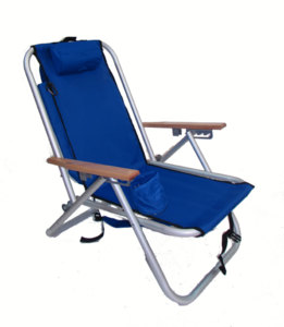 IMPRINTED Personalized Aluminum Backpack Chair by Rio Beach