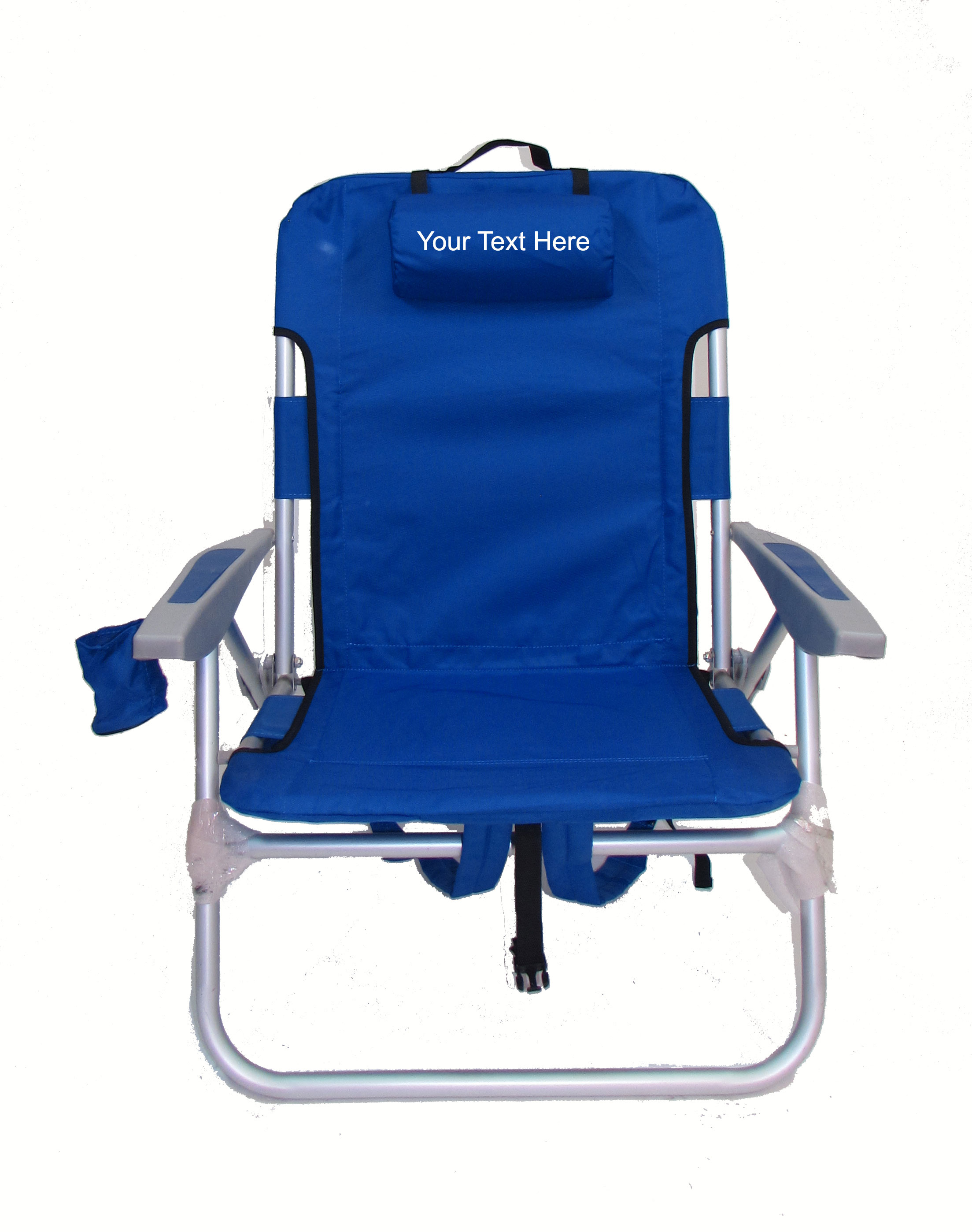 IMPRINTED Personalized Big Boy Extra Wide Backpack Chair by Rio Beach