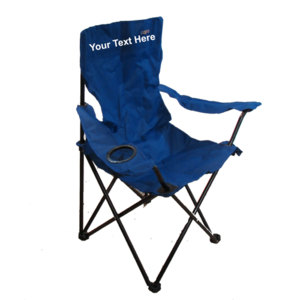 IMPRINTED Personalized High Back Large Quad Chair by JGR Copa