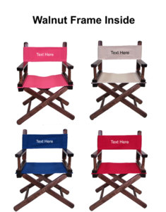 IMPRINTED Personalized Kids Director Chair by Gold Medal