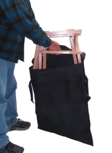 Nylon Carry Bag with Inner Coating by Gold Medal Chairs