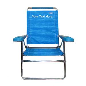 IMPRINTED High Beach Chair by Rio Beach