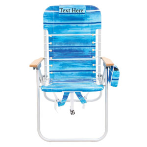 IMPRINTED Hi Boy Backpack Chair by Rio Beach