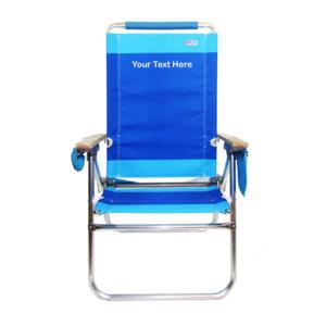 IMPRINTED Hi Boy Beach Chair by Rio Beach