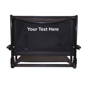 IMPRINTED Personalized Wide Bleacher Bum Stadium Seat by Pacific Imports