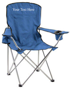Personalized Imprinted Deluxe Quad Chair by Quik Shade