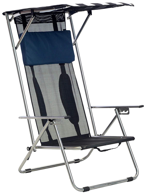 Beach Recliner Shade Chair by Quik Shade