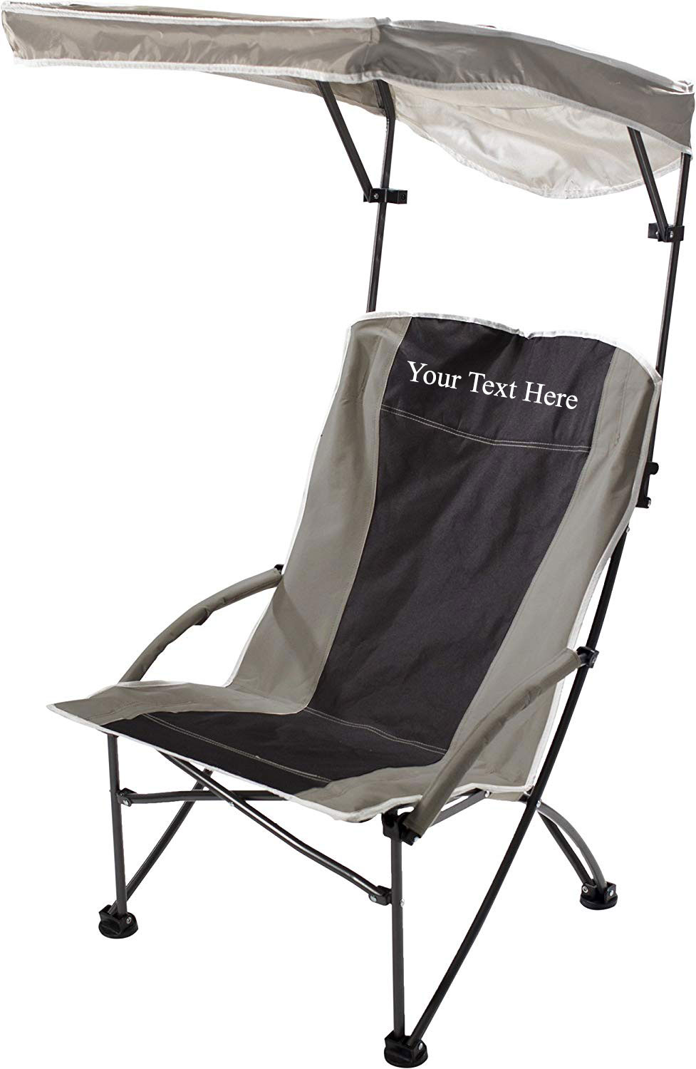 Imprinted Personalized Pro Comfort High Shade Chair by Quik Shade