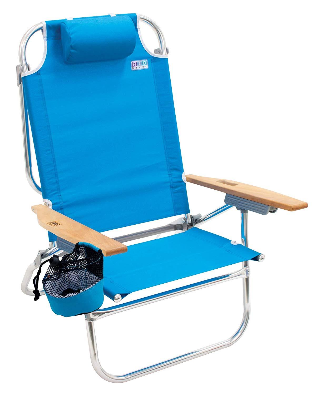 High Boy Lay Flat Beach Chair by RIO Beach