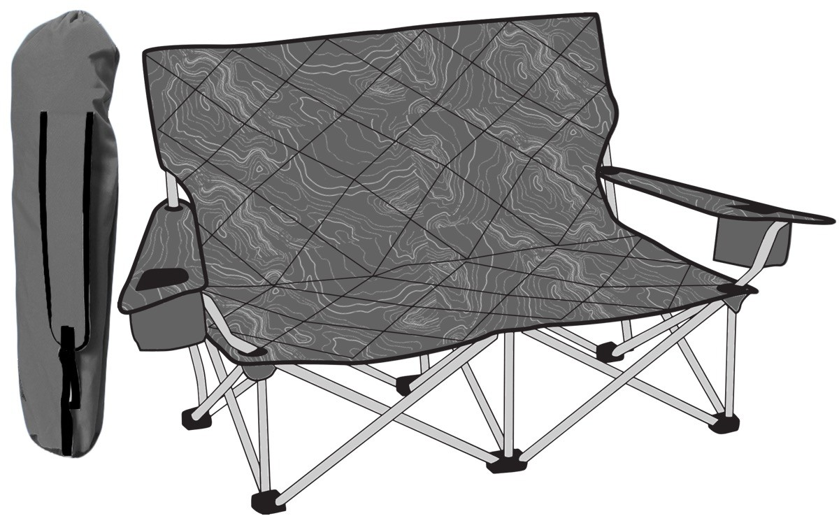 Shorty Camp Couch by TravelChair - Topo