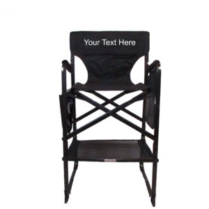 IMPRINTED Personalized Professional Tall Directors Chair By Pacific Imports