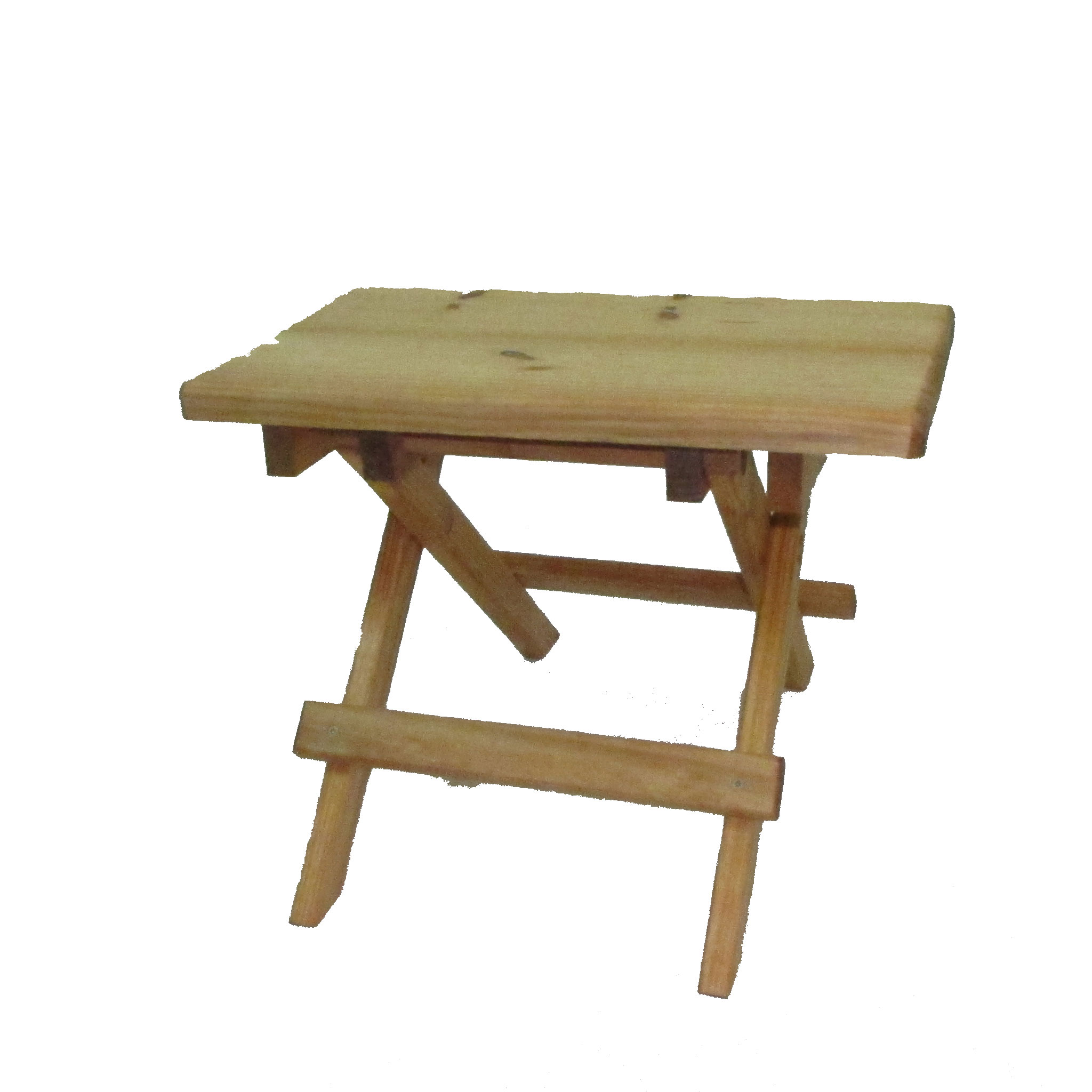 Pine Folding Table by Double Nichols