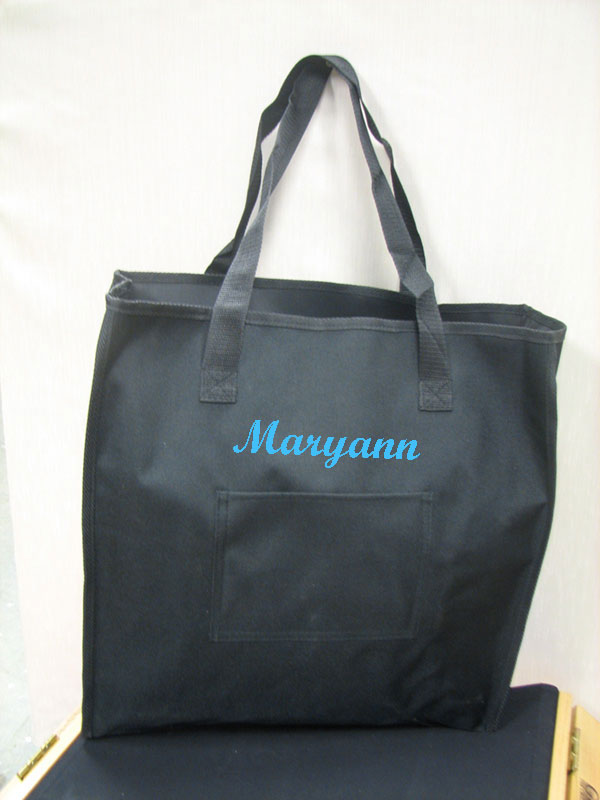 IMPRINTED Personalized Oversized Carry Tote by Stadium Chair