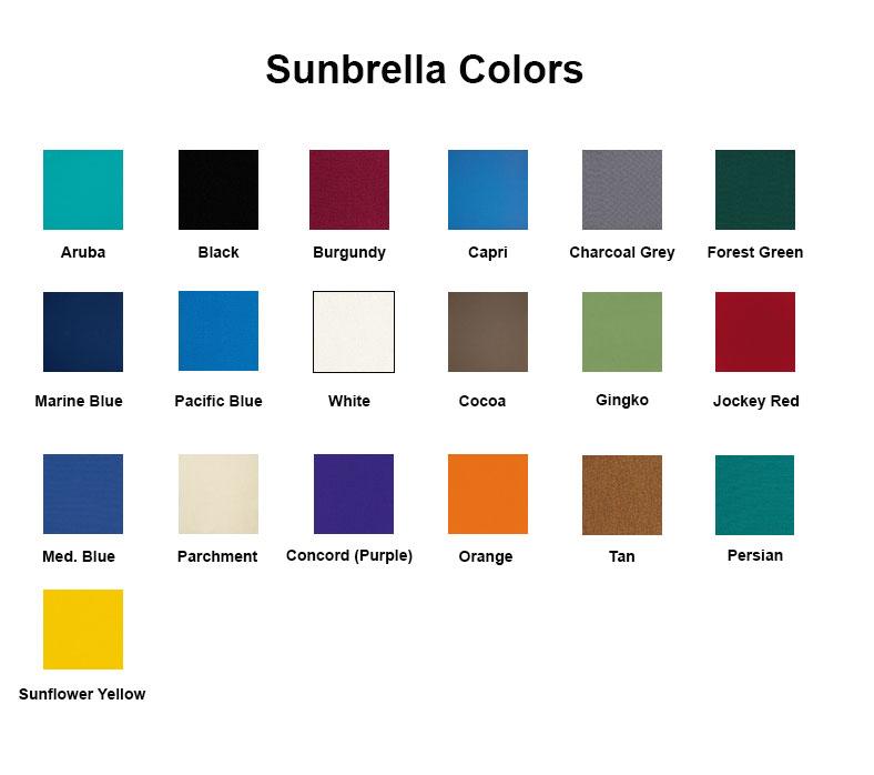 IMPRINTED Sunbrella Replacement Canvas for Directors ...