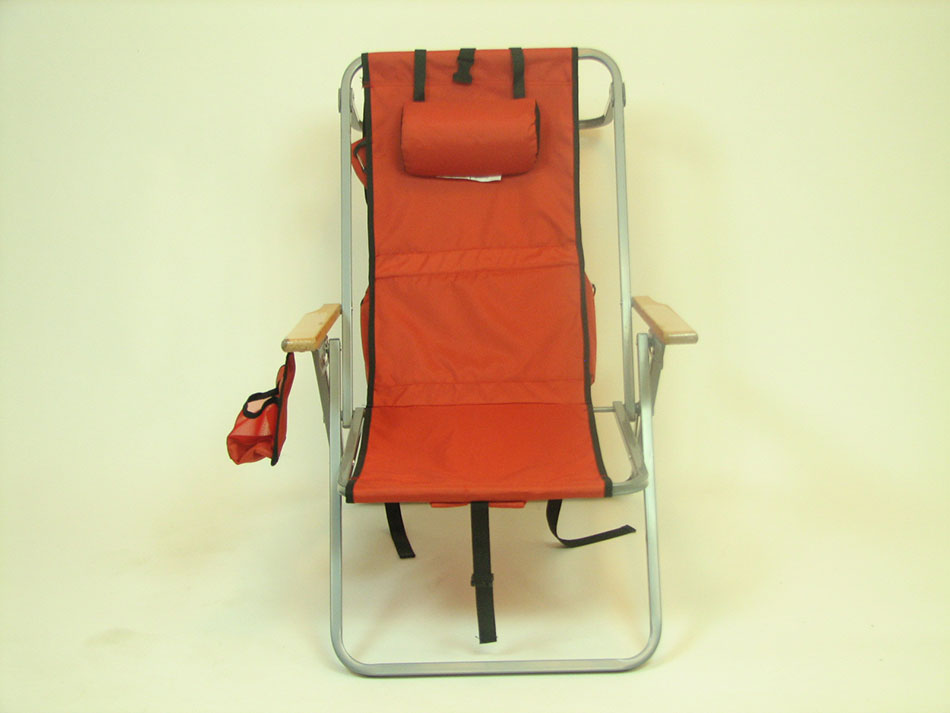 5 Position Lay-Flat Backpack Chair with Cooler by RIO Brands