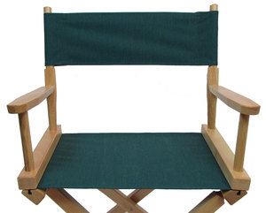 Limited Edition Directors Chair Replacement Canvas Cover (Round Stick) - Midnight Teal
