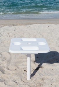 The Sand Anchor Umbrella Holder  with Removable Table
