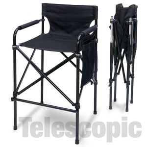 Quad Style Tall Aluminum Directors Chair