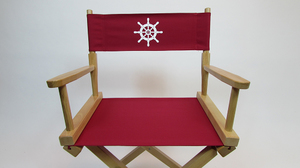 Marine Themed Replacement Directors Chair Cover (Stock Size)
