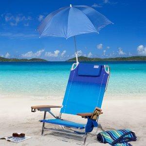 Rio Beach Clamp-On Umbrella