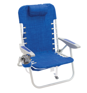 RIO 4 Position Deluxe Lace-up Aluminum Backpack Chair