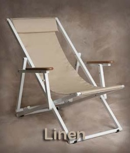 Aluminum Lounge Chair with Arms from Sutton Bridge - Personalization Available