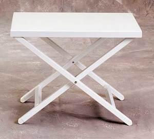 Aluminum Side Table by Sutton Bridge