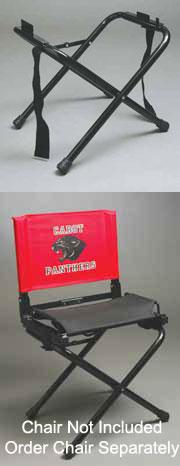 Optional Folding Legs for Stadium Chair Bleacher Seat