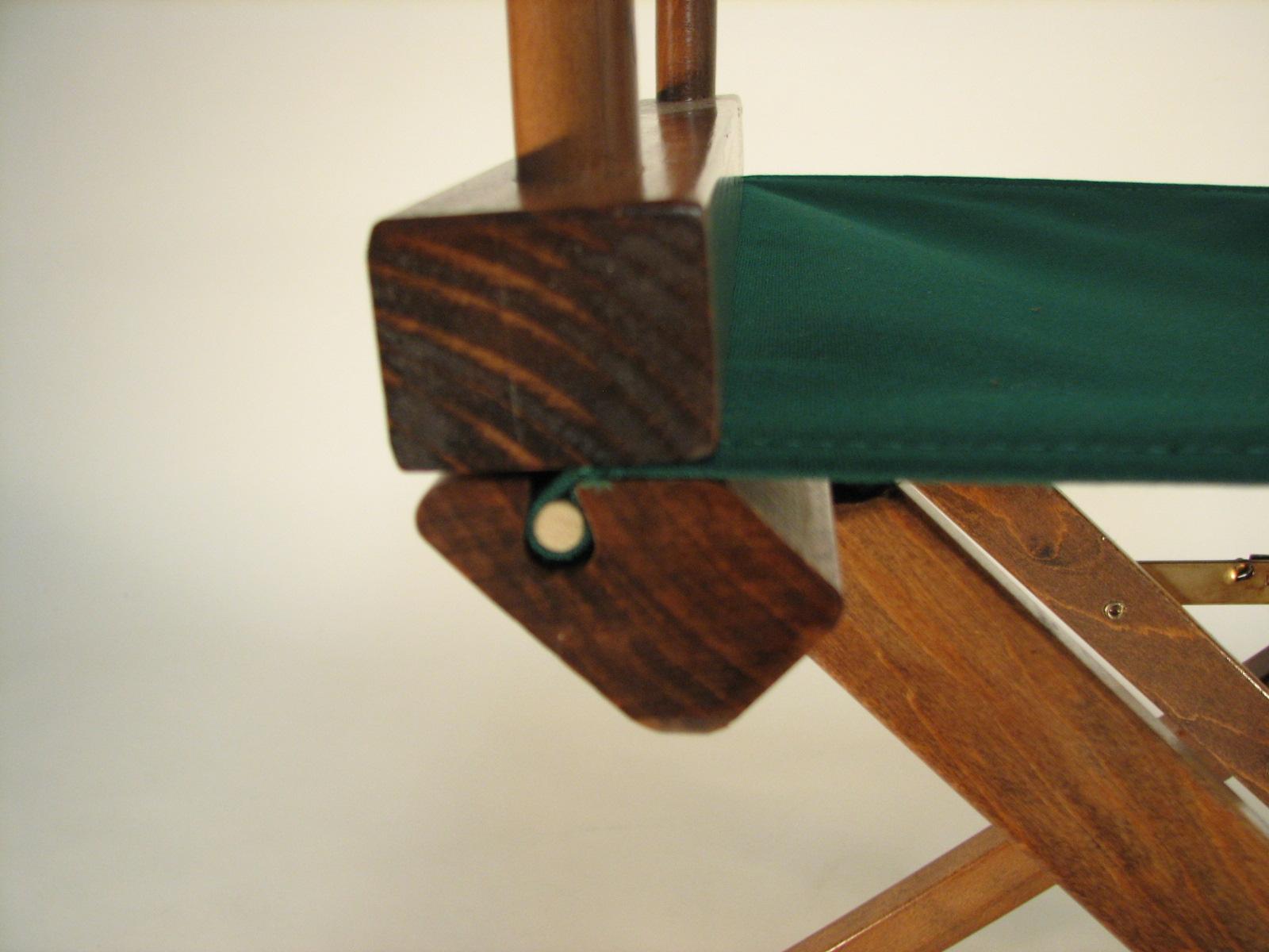 IMPRINTED Sunbrella Directoru0026#39;s Chair Covers (Round Stick), New : eBay