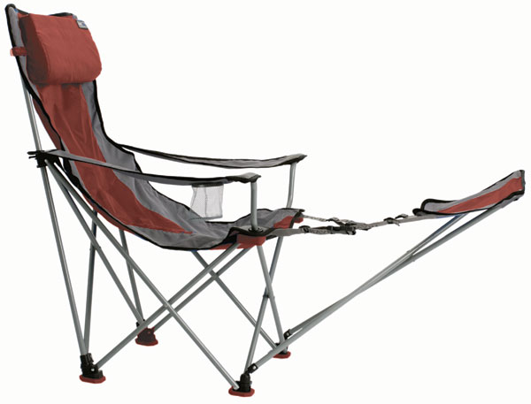 folding quad chair with footrest 2