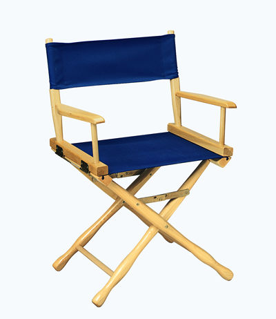 Gold Medal 18 inch Table Height CLASSIC Directors Chair