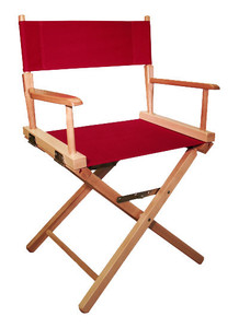 Gold Medal 18 inch Table Height COMMERCIAL Directors Chair