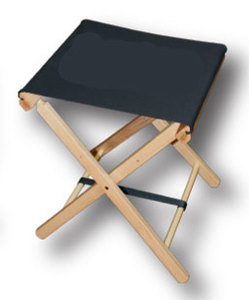 Gold Medal Director Chair Style Folding Stool
